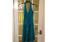 Karen Millen green dress size 8