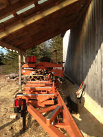 Private Sawmill at your home or wood lot