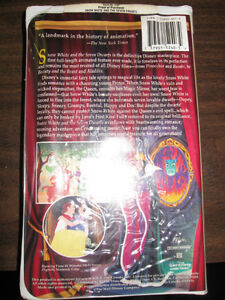 Snow White and the Seven Dwarfs (VHS, 1994) Peterborough Peterborough Area image 2