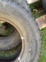 "2 Goodyear 15"" tires"
