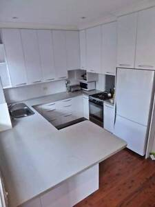 White matt kitchen cabinets Daceyville Botany Bay Area Preview