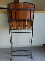Folding Teak Chair