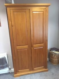 M&S Wardrobe - Solid Wood Double