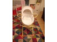 M & S Moses basket and stand