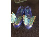 Girls Cinderella dress up shoes