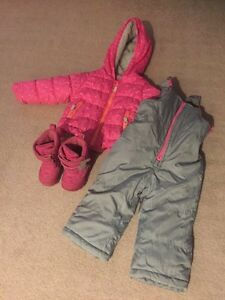Various boys and girls clothes, boots