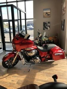 2019 Indian Motorcycle Chieftain Limited Ruby Metallic