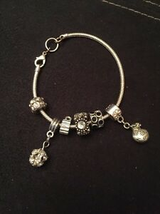 Charm bracelet. Charms included