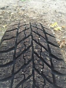 Winter tires - Goodyear ultra grip 215/70r15 one year old