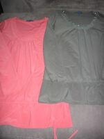 Maternity tunics - size L/XL