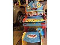 Thomas The Tank Engine desk & stool