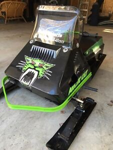 Customized '79 Kitty Kat Snowmobile