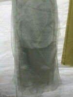 Various organza table covers