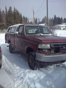 1996 Ford F-150 XL Pickup Truck For Parts