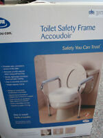 "Toilet Safety frame ""as new"""