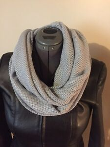 Handmade knitted infinity scarf  only $10.  Red and beige is $15 Sarnia Sarnia Area image 4