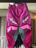 brand new girls size 8 dirt bike riding pants