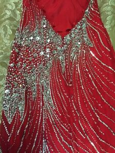 Gorgeous stunning Tiffany party dress size 08 London Ontario image 5