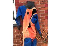 Otter front loader drysuit