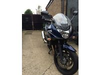 Suzuki GSF 650S K9 only 2,500 careful miles from new