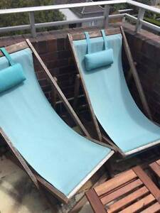 Set of 2x Freedom outdoor lounge chairs $75 Paddington Eastern Suburbs Preview
