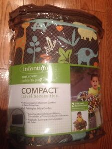 Infantino 2-1Shopping cart cover