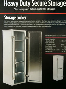 Cabinet Style Storage Locker