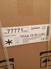 Indesit TFAA10SI silver under counter fridge