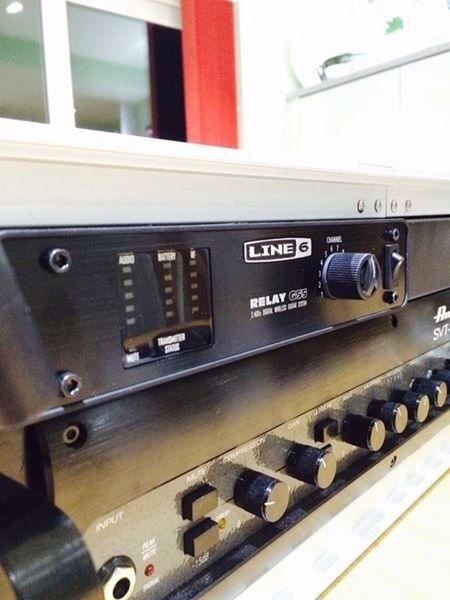 Line 6 G55 Wireless + Rackmount kit