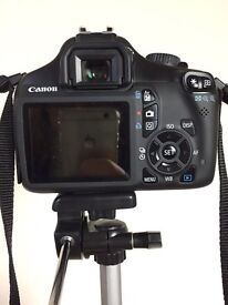 Camera Canon 1100d + Lens Perfect conditions