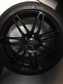 Audi S4 Rs4 Style B8 Alloys Genuine
