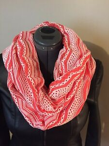 Handmade knitted infinity scarf  only $10.  Red and beige is $15 Sarnia Sarnia Area image 8