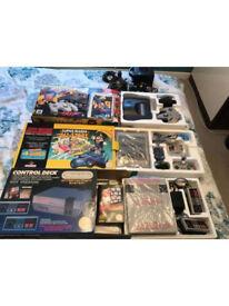 NES + SNES + N64 + GameCube console bundle