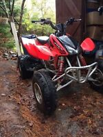 2005 Honda 450r Great Shape- Sale or equal value trade