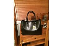 New. Ralph Lauren Ladies Leather Tote Handbag