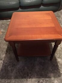 Solid rosewood coffee tables