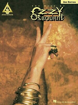 The Best of Ozzy Osbourne 2nd Edition Sheet Music Guitar Tablature NEW