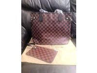 LV bag neverfull with inside pouch