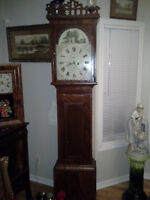 1800s grandfather clock