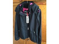 *** REDUCED ***BNWT Ladies Superdry Artic Windcheater Jacket, Size L