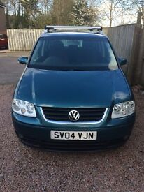 VW Touran 2.0tdi Sport