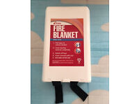 Quality UK fire blanket, brand new, quick sale at only £10