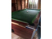 Free pub pool table