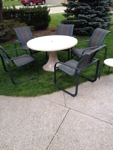 Hauser Brand patio set