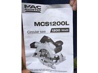 Macallister circular saw 1200 watt