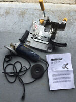 Mastercraft Angle Grinder with support / Meuleuse d'angle