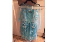 Elsa frozen dress up outfit