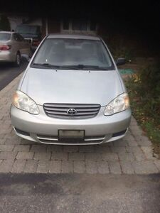 2004 Toyota Corolla low mileage