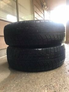 2 New winter tires for sale