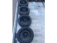Vauxhall Astra VXR GENUINE Nurburgring ALLOYS + 225/40/18 tyres